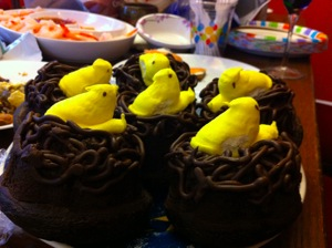 Warbler cake